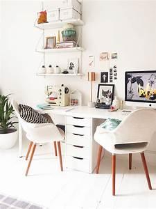 Doppel Schreibtisch Ikea : home office inspiration escritorios pinterest arbeitszimmer b ros und arbeitspl tze ~ Markanthonyermac.com Haus und Dekorationen