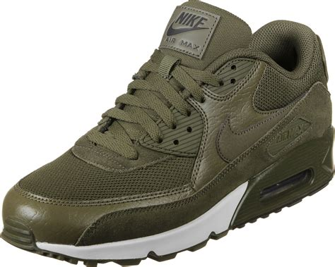 Nike Airmax 90 Motif nike air max 90 le shoes olive green