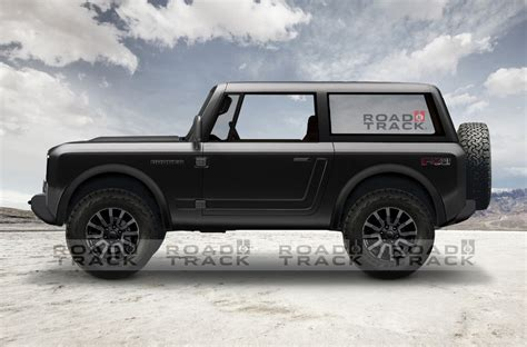 ford bronco renders based  official teaser