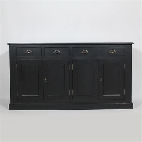 meuble bureau secretaire enfilade 4 portes 4 tiroirs bois massif made in