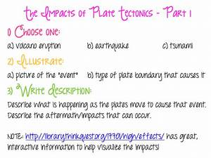 Plate tectonics assignment definition of argument essay plate ...