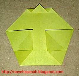 membuat origami sederhana ayam