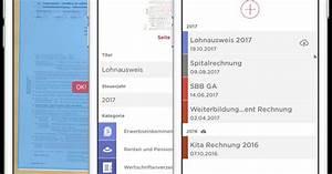 Belege Für Steuererklärung : im wallis steuerbelege mit dem smartphone einscannen ~ Lizthompson.info Haus und Dekorationen