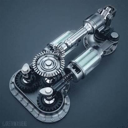 Mechanical Engineering Gifs Imgur Mechanism Cool Industrial