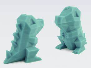Low-Poly Pokemon collection - Thingiverse