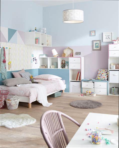 chambre fille couleur pastel pour chambre fille