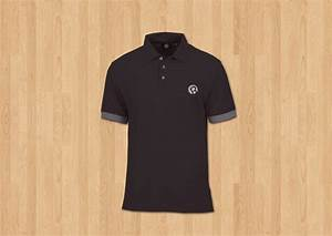 Mens polo shirt mock up