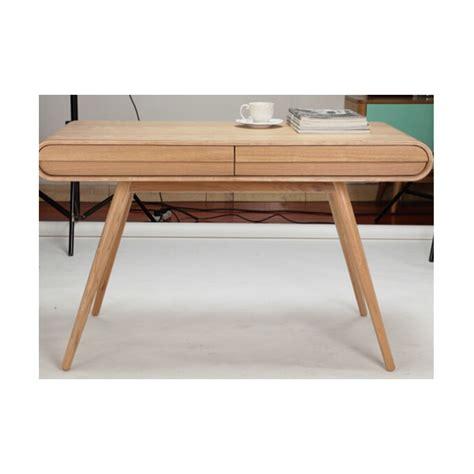bureaux en bois chris bureau en frêne design scandinave achat vente