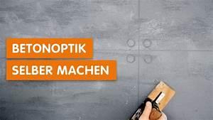 Betonoptik Selber Machen : betonoptik ganz einfach selber machen so geht s youtube ~ Michelbontemps.com Haus und Dekorationen