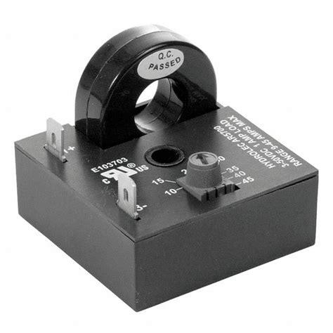 Airotronics Adjustable Current Sensing Relay Self Powered
