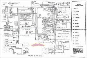 Jaguar Xke E Type Electrical Wiring Diagram 4 2 S2 1967