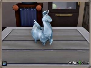 glass flying llama by design 4 sims at sims 4 studio