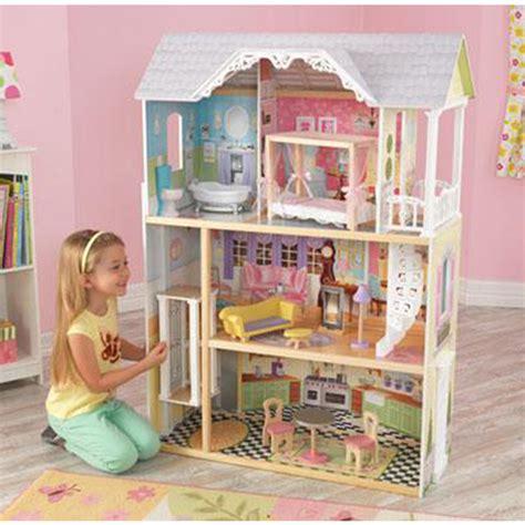 kidkraft majestic mansion dollhouse with furniture maison de poupéé en bois kidkraft lsmydesign com