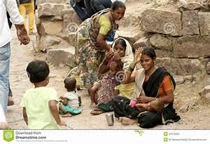 Indian Beggars Seek Help Editorial Stock Image - Image ...
