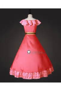 disney elena  avalor elena princess red dress cosplay