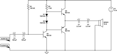 Class Amplifier Distortion Electrical Engineering