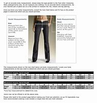 Best jeans size chart ideas and images on bing find what you ll love