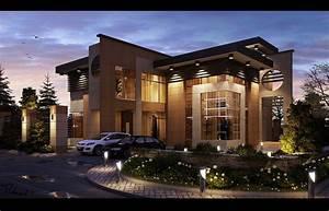 Modern, Architecture, Villa, Design, In, Riyadh