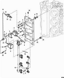 Mercury Marine 225 Hp Pro Xs  3 0l Dfi  Coil Plate Parts