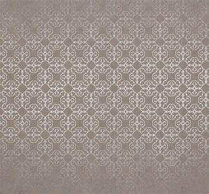 Tapete Muster Grau : vliestapete design muster silber grau metallic tapete ~ Michelbontemps.com Haus und Dekorationen