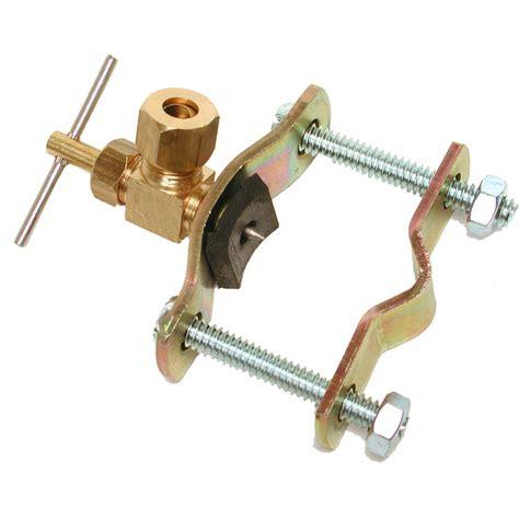 saddle valve dial needle angle plumbersstock valves