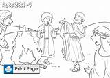 Coloring Paul Shipwrecked Acts Niv Printable Printables sketch template