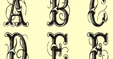 monogram templates  monogram stencils printable website  wupogiza tattoo art