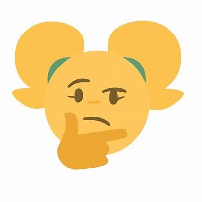 Emoji Thinking Sssir8 Discord Abuse
