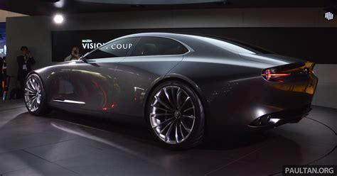 Tokyo 2017: Mazda Vision Coupe – the future of Kodo Paul ...