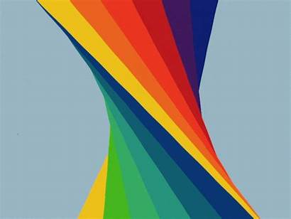 Rainbow Herbert Bayer Giphy Tweet Gifs