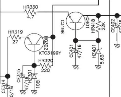 daewoo agc 7200 series schematic diagram service manuals service
