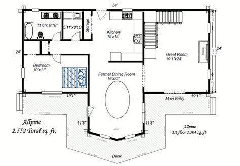 one log home floor plans allpine colorado log homes log home floor plans