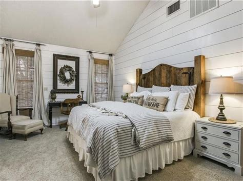 25+ best ideas about Farmhouse Master Bedroom on Pinterest