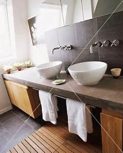 Waschtisch Für Aufsatzwaschbecken Aus Holz : 1000 bilder zu ideen f r den umbau auf pinterest ~ Michelbontemps.com Haus und Dekorationen