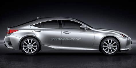 lexus sport car 4 door four door lexus rc rendering japanese niche game