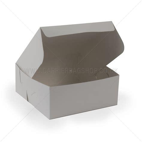 white cake box southern champion tray  premium clay