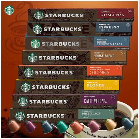 Features coffee from starbucks, the reasons for the popularity of coffee houses. Starbucks by Nespresso Coffee Capsule 8 types | Shopee Malaysia