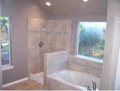 Open Shower Bath Designs by Bathroom Design With Open Shower The Bump