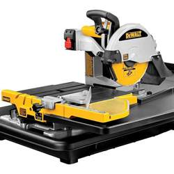 dewalt d24000 wet tile saw contractors direct