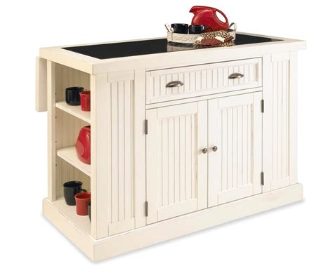 Home Styles Nantucket Kitchen Island  Sanded And