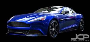 Aston Martin Vanquish in Cobalt Blue in St. Petersburg ...