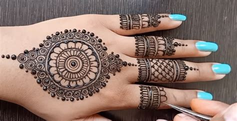 eid mehndi designs  images simple easy style