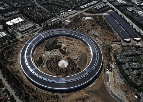 Apples Headquarters New Pictures by Apple S New Headquarters Apple Park Has No Child Care