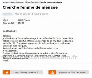 Le Bon Coin Femme De Ménage Marseille : cherche femme de m nage offres d 39 emploi midi pyr n es ~ Dailycaller-alerts.com Idées de Décoration