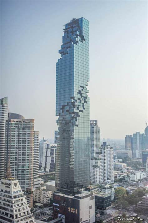 mahanakhon   art design skyscraper  bangkok