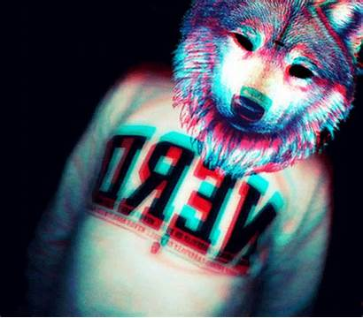 Dope Eyes Gifs Giphy Backgrounds Trippy Wolf