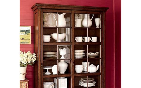 Garrett Glass Cabinet by Race Through Time Garrett Glass Cabinet