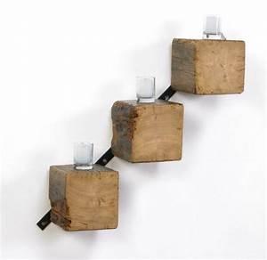 Wandregal Holz Metall : massivholzm bel wohnzimmer wandregale holz baumbl cke diy i r kodzie o pinterest wandregal ~ Indierocktalk.com Haus und Dekorationen