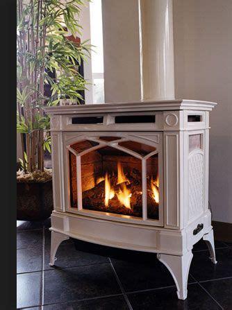 propane freestanding fireplace photo  wood stove