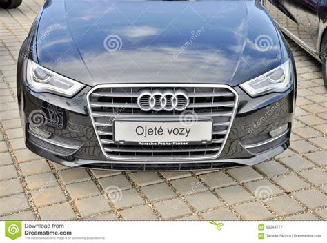 Audi Car Store Naas Editorial Image Cartoondealercom